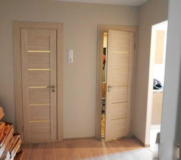 Межкомнатные двери капучино