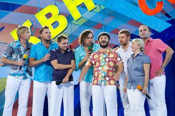 Михаил Галустян в команде КВН Утомленные солнцем
