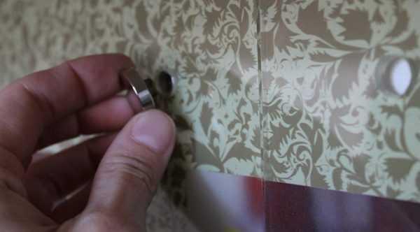 Монтаж стеновой панели на саморезы