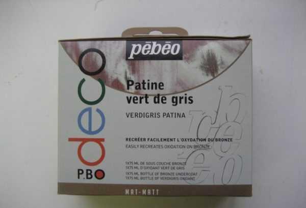 Набор для патинирования Pebeo