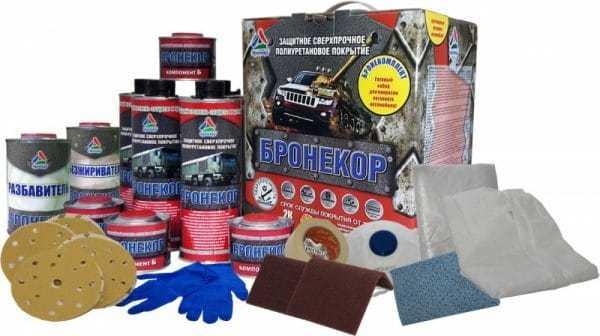 Набор для покраски автомобиля