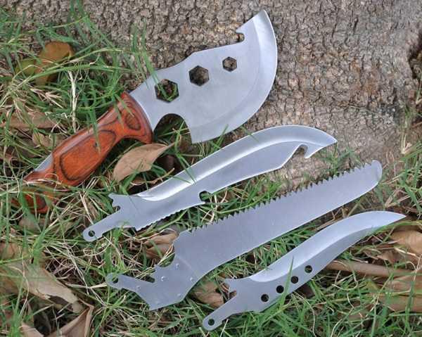 Набор для выживания из четырех инструментов