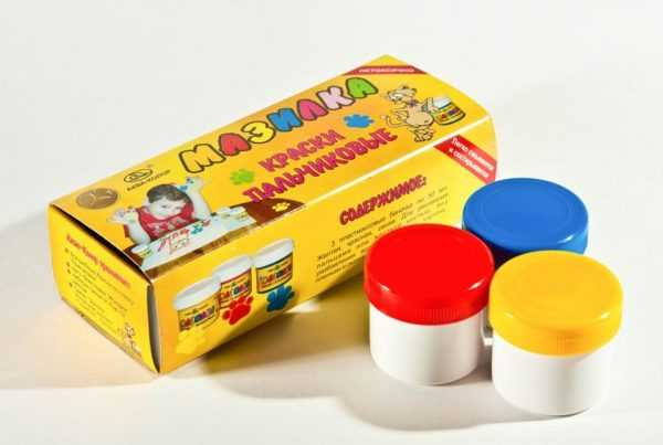 Набор пальчиковых красок для малышей