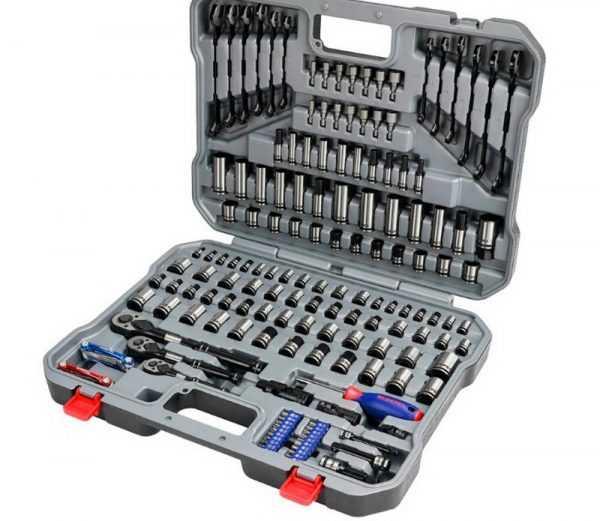 Набор торцевых ключей для ремонта автомобиля WORKPRO