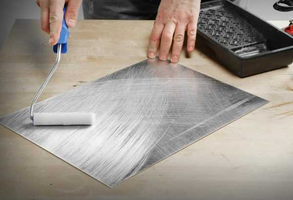 Использование акрилового лака для обработки алюминия