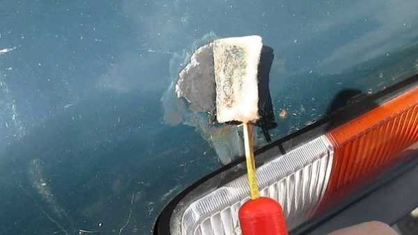 Оцинковка автомобиля с помощью батарейки
