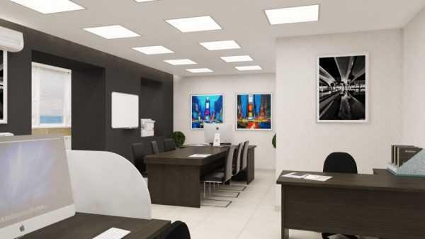 Правильный выбор цвета стен в офисе улучшает производительность труда сотрудников
