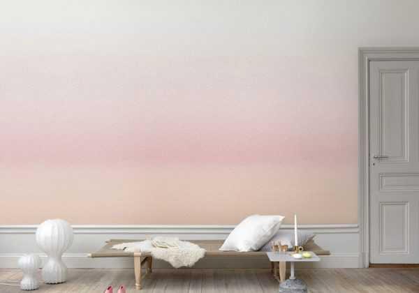Эффект ombre на стене