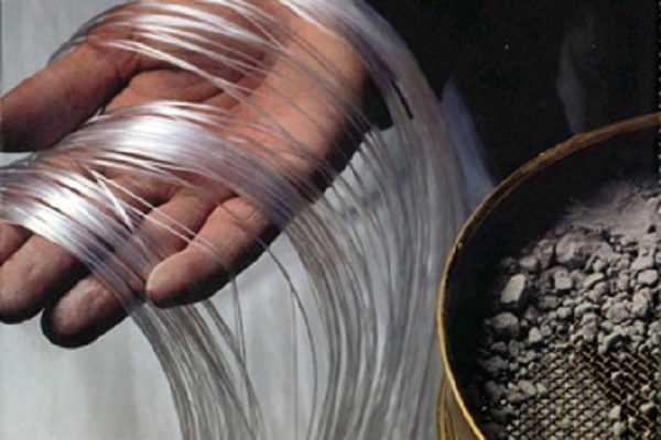 Оптоволокно для производства прозрачного бетона