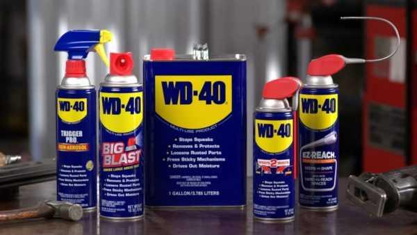 Оригинальное масло WD-40
