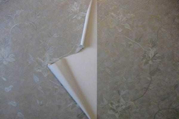 От стены покрашенной масляной краской обои могут отлеиваться
