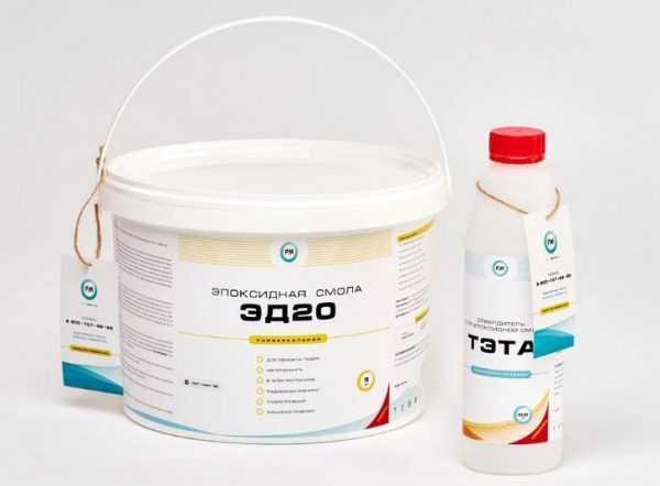 В качестве отвердителя для ЭД-20 обычно используют триэтилентетрамин