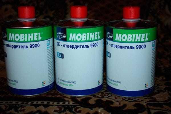 Отвердитель для краски Mobihel