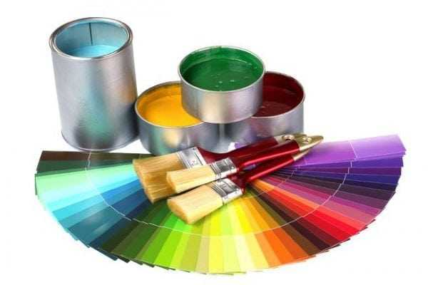 Палитра оттенков акриловой краски