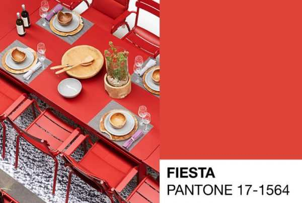 Pantone 17-1564 Fiesta — палитра