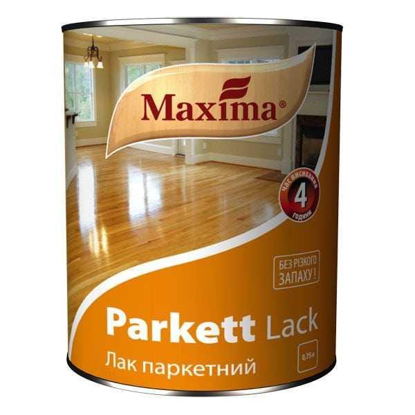 Лак фирмы Maxima для дерева