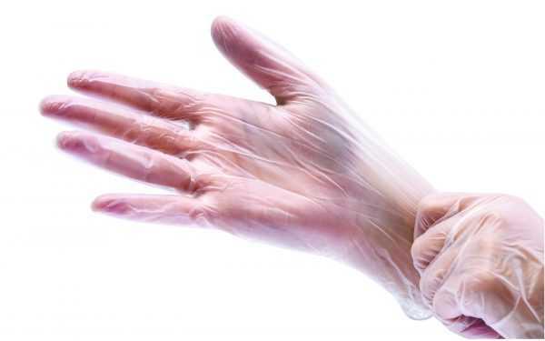 Перчатки для окраски волос