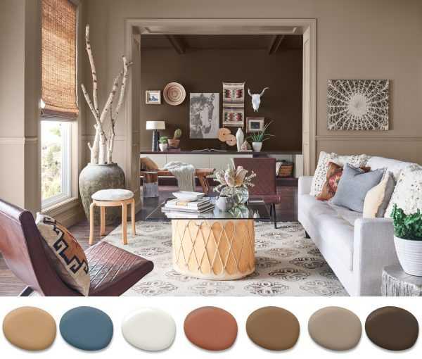 Точное определение цветов необходимо при разработке дизайна интерьера