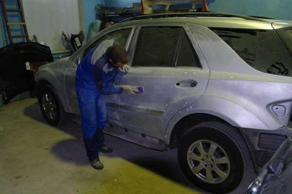 Зачистка поверхности перед нанесением краски Раптор