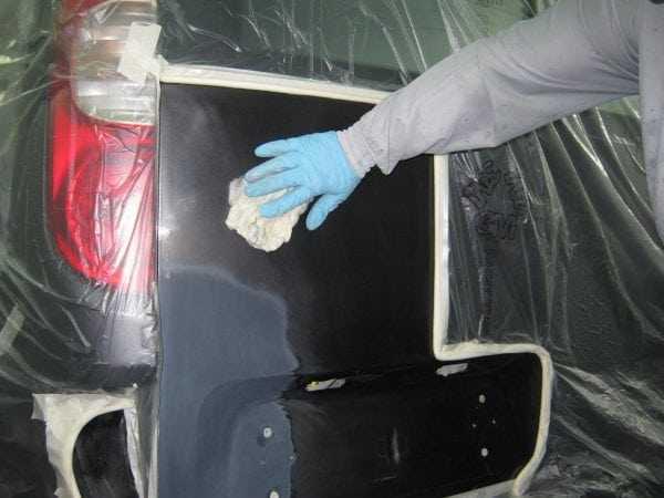 Обезжиривание улучшает сцепление поверхности с покрытием