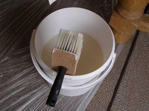 Подготовка состава для приклейки выравнивающего полотна