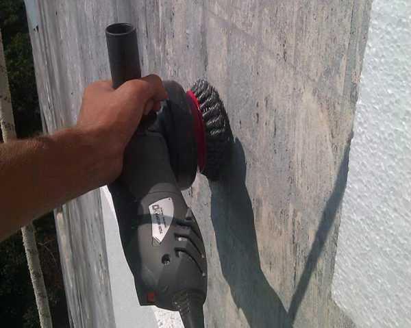 Подготовка поверхности под нанесение теплоизолирующей краски