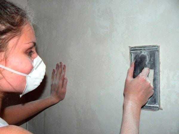 Ошкуривание стен
