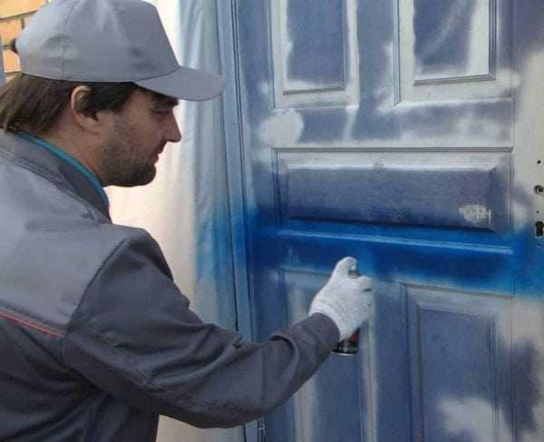 Технология покраски аэрозольной краской