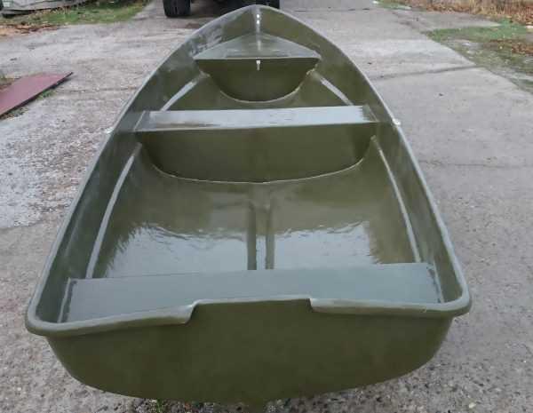Покраска пластиковой лодки