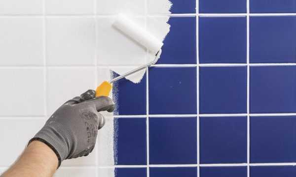 Для покраски плитки лучше всего подходят нейтральные тона
