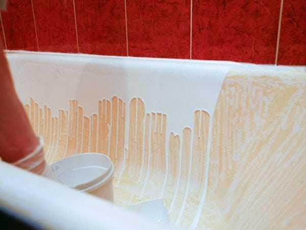 Реставрация ванн акрилом на дому