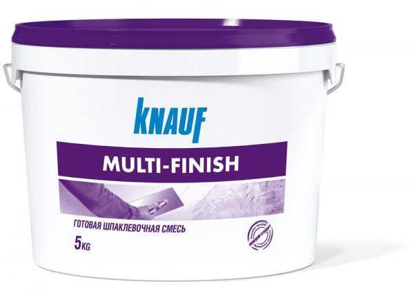 Готовая шпаклевочная смесь Кнауф