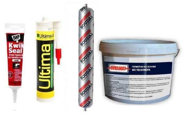 Полиуретановые герметики