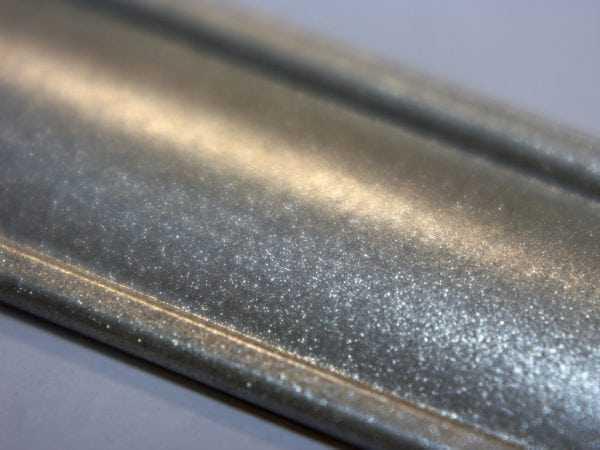 Порошковые краски с эффектом металлик