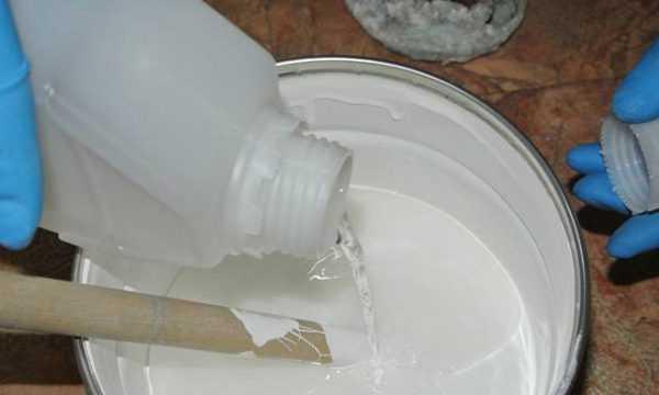 Приготовление реставрационного состава для ванны
