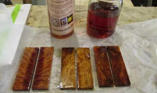 Пропитка для стабилизации древесины