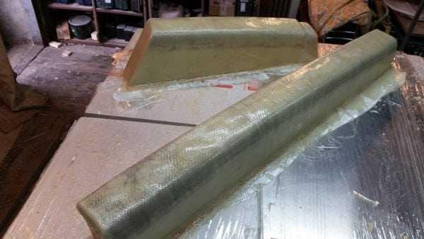 Эпоксидная смола используется для изготовления изделий из стеклоткани