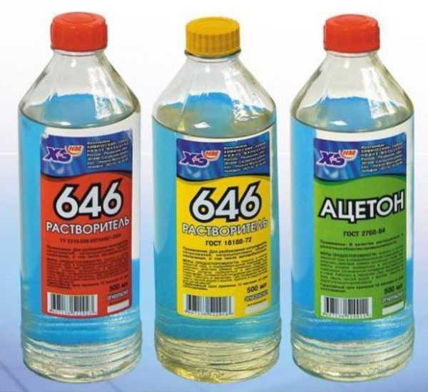 Для разбавления эпоксидной смолы можно использовать ацетон