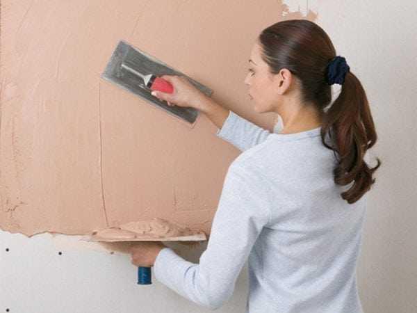Расход шпаклевки на квадратный метр стены