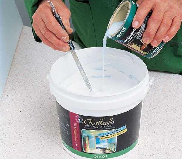 Разбавление водоэмульсионной краски