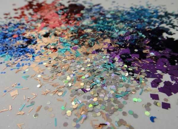 Разноцветные флоки для стен