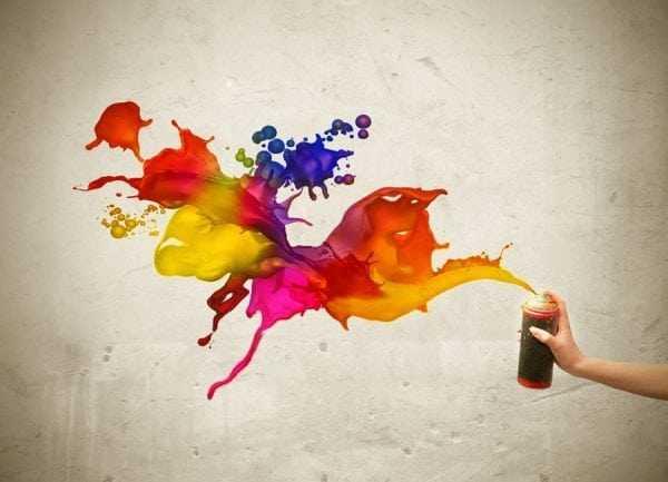 Применение баллончиков с краской