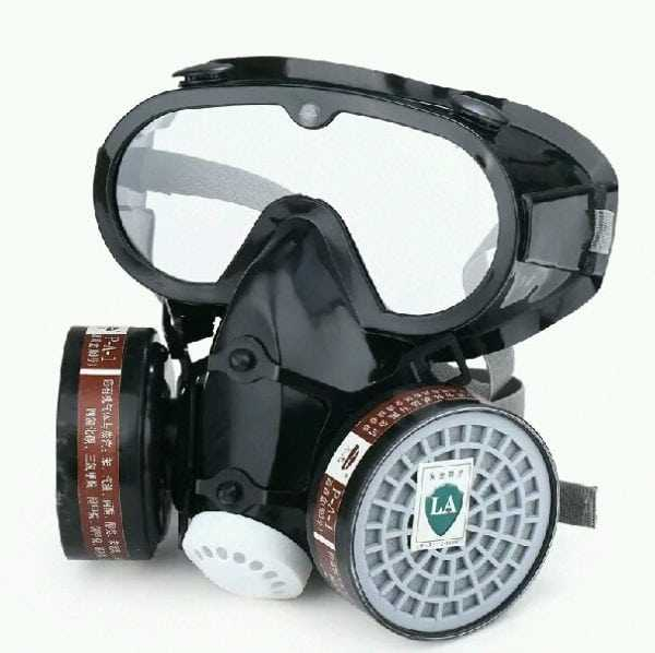 Респиратор - защитные очки