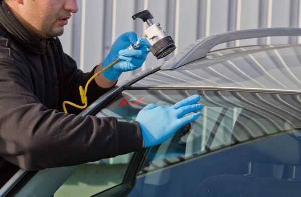 Реставрация ветрового стекла в автосервисе