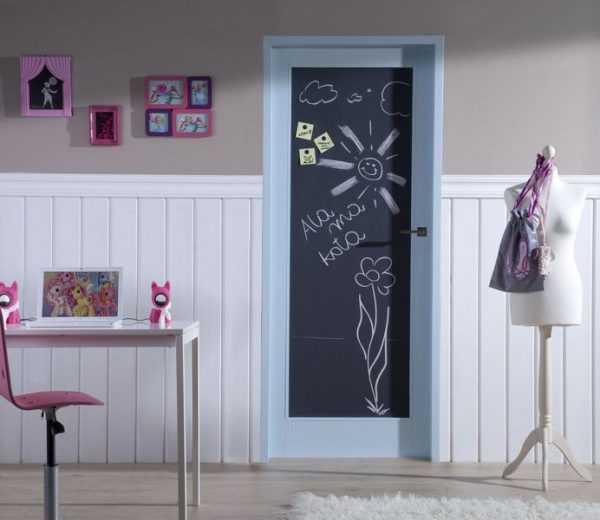 Рисунки на двери своими руками