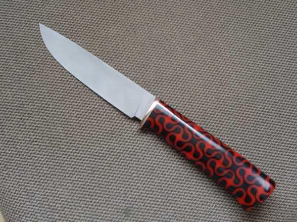 Рукоять ножа из эпоксидной смолы