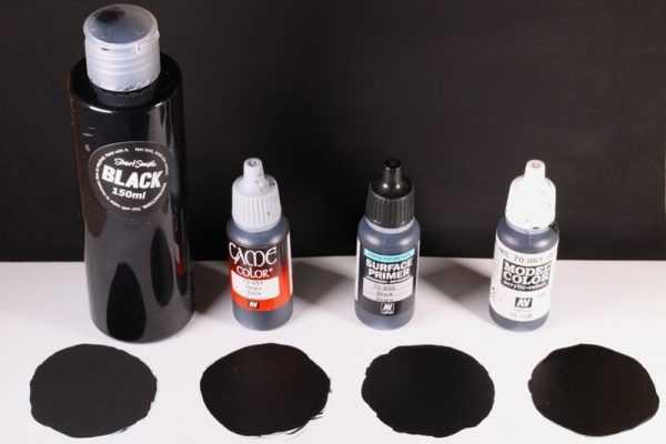 Краска Black 2.0 выпущенная художником Стюартом Сэмплом