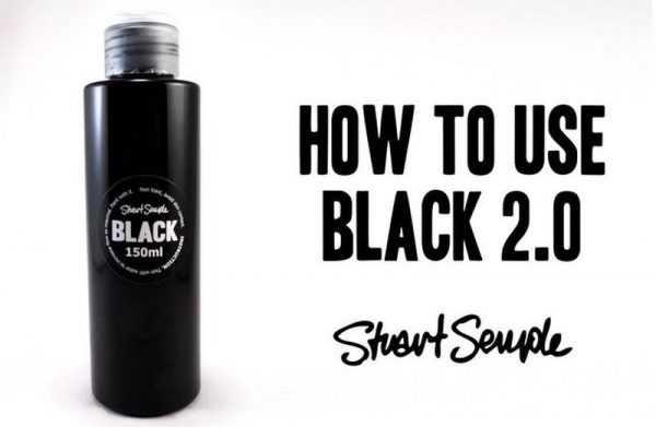 Самая черная краска на планете BLACK 2.0