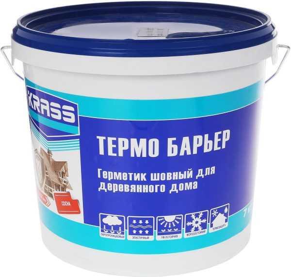Шовный герметик для деревянных домов Термо Барьер
