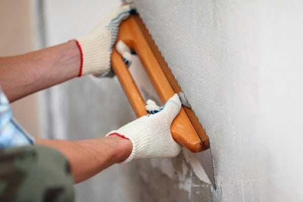 Шпаклевка стен после оштукатуривания